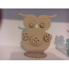 4mm MDF Steampunk OWL